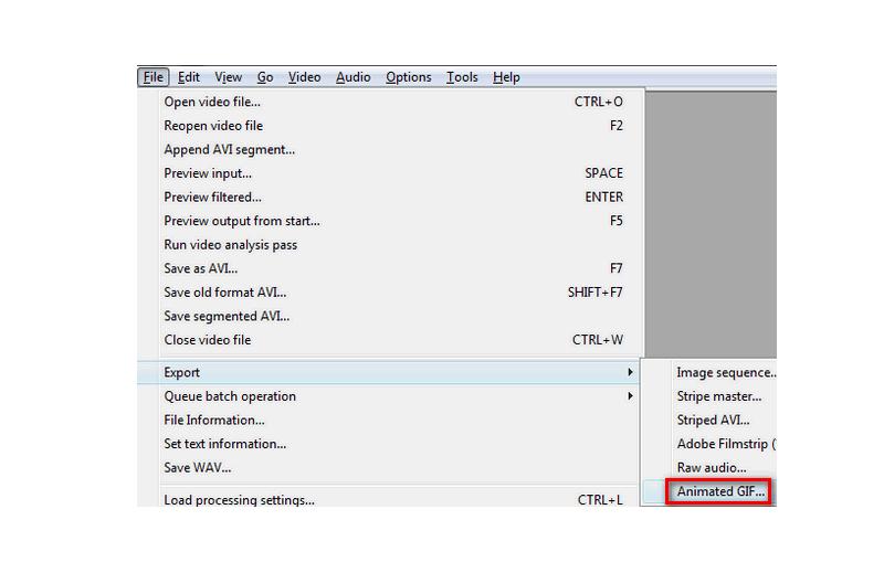 Virtualdub phần mềm chỉnh sửa video Cực đỉnh cho Youtube Miễn phí save-GIF