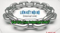 Internal link liên kết nội bộ trong SEO là gì? Vai trò của Internal link?