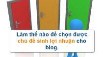 chon topic cho blog