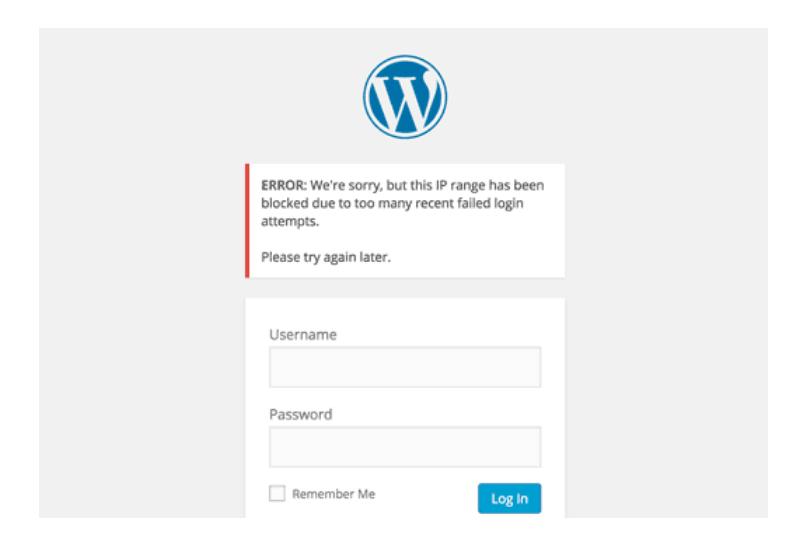 55+ Mẹo và thủ thuật cực hay trong WordPress Limit-login