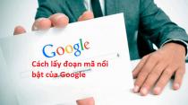 đoạn mã của Google