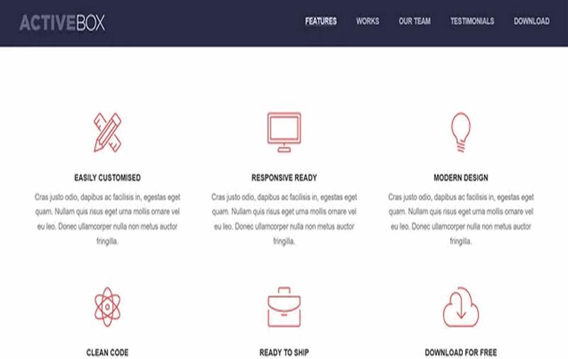Top 20 mẫu LandingPage HTML miễn phí mau-trang-dich-HTML-mien-phi39
