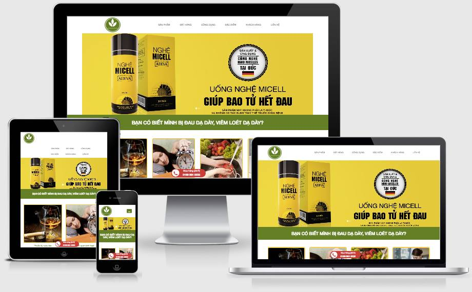 Thiết kế Website Chuẩn SEO cùng Lamvt với 10 bước đạt 12 tiêu chí kem-nghe