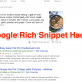 Đánh thức SERP: Rich Snippet Hacks, Penalties & Author Removal Alternative