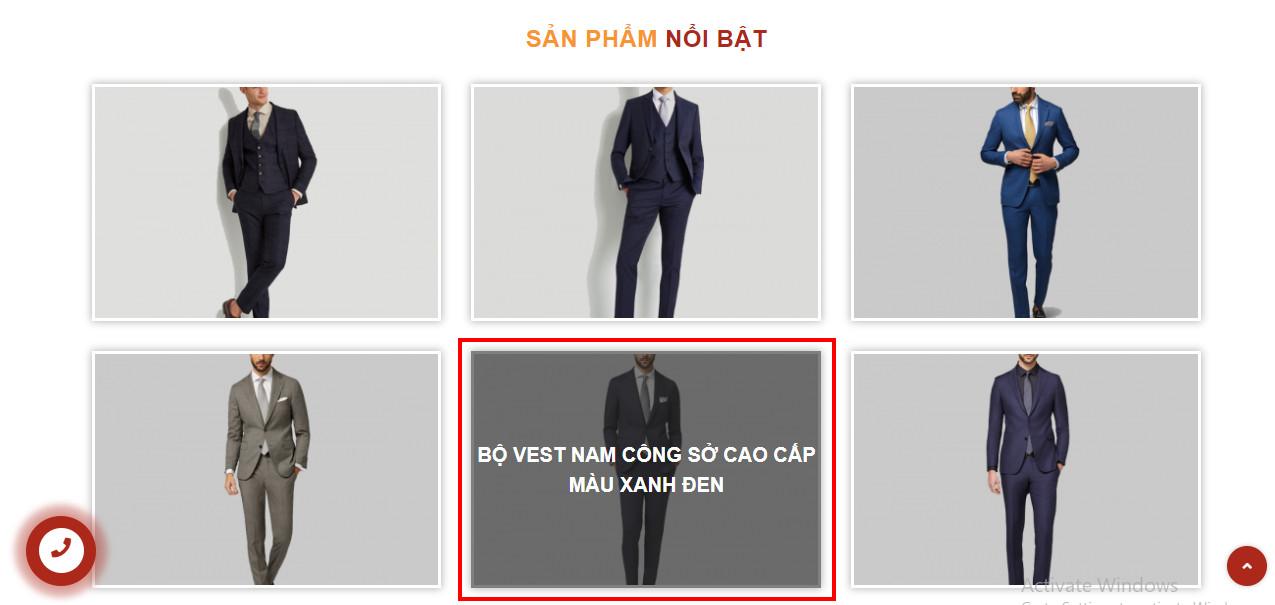 Thiết kế Website Xưởng May mặc Thời trang mayphuonghoang.vn web-may-3