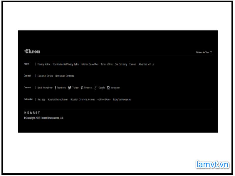 Website Footer là gì ? 10 mẫu chân web truyền cảm hứng thiết kế website-footer-la-gi-10-mau-chan-web-truyen-cam-hung-thiet-ke-5