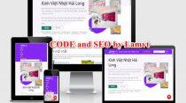 Kinhvietnhathailong.vn: Website chuẩn SEO dành cho các sản phẩm về Kính