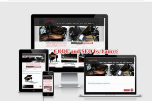 Website muabanpiano.vn - Trang web dành cho người đam mê đàn piano